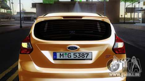 Ford Focus ST 2013 für GTA San Andreas Seitenansicht