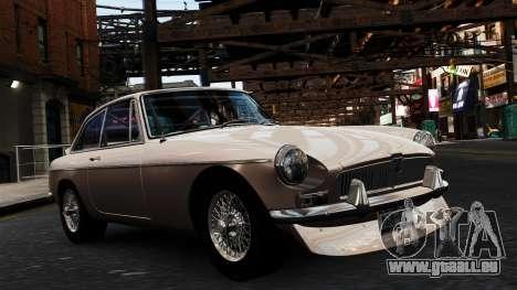 MGB GT 1965 für GTA 4