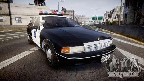 Chevrolet Caprice 1990 LCPD [ELS] Traffic für GTA 4