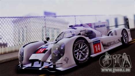 Porsche 919 Hybrid 2014 für GTA San Andreas linke Ansicht