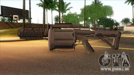 Rocket Launcher from GTA 5 für GTA San Andreas dritten Screenshot