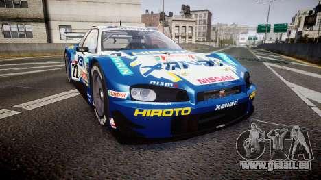Nissan Skyline R34 2003 JGTC Xanavi Hiroto für GTA 4