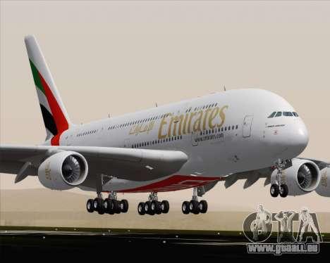 Airbus A380-800 Emirates (A6-EDH) pour GTA San Andreas