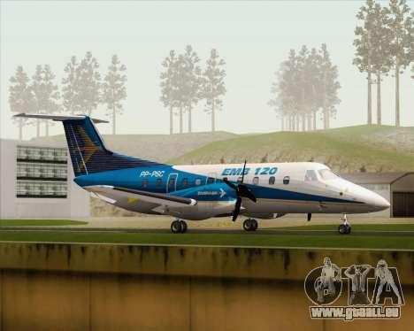 Embraer EMB 120 Brasilia Embraer Livery pour GTA San Andreas laissé vue