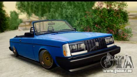 Volvo 242 Cabrio pour GTA San Andreas
