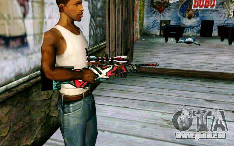 AWP L96A1 (Looney) pour GTA San Andreas deuxième écran