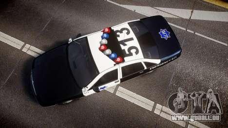 Chevrolet Caprice 1990 LCPD [ELS] Traffic für GTA 4 rechte Ansicht