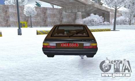 FSO Polonez 2.0X Coupe pour GTA San Andreas vue de droite