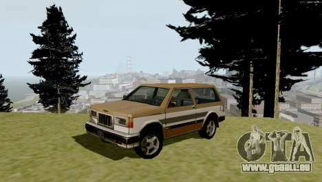 Brand new transport und Einkauf für GTA San Andreas achten Screenshot