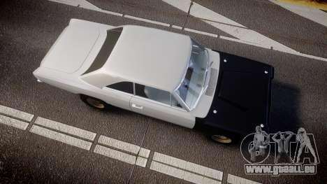 Dodge Dart HEMI Super Stock 1968 rims1 für GTA 4 rechte Ansicht