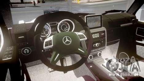 Mercedes-Benz G65 Brabus rims2 für GTA 4 Innenansicht