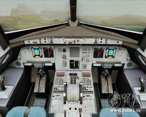 Airbus A320-200 Air New Zealand für GTA San Andreas Innen