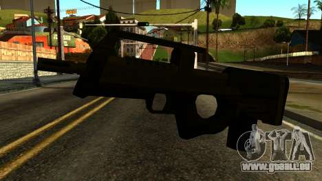 Assault SMG from GTA 5 für GTA San Andreas