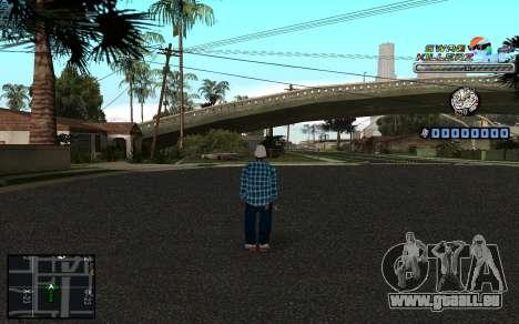 C-HUD SWAG Killerz pour GTA San Andreas deuxième écran