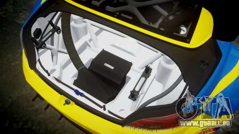 BMW Z4 GT3 2012 Northwest pour GTA 4 est un côté