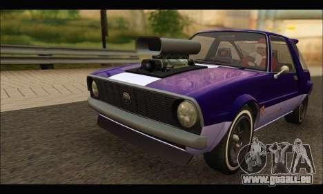 Declasse Rhapsody v2 (Fixed Extra) (GTA V) pour GTA San Andreas laissé vue