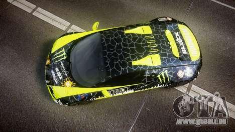 Bugatti Veyron Super Sport 2011 [EPM] Ken Block für GTA 4 rechte Ansicht
