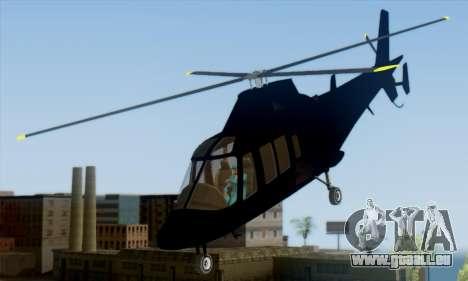 Swift GTA 5 für GTA San Andreas linke Ansicht