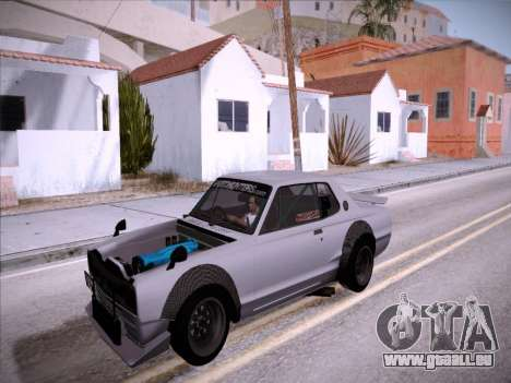 Nissan Skyline 2000 GT-R Drift Edition pour GTA San Andreas