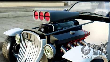 GTA 5 Hotknife pour GTA San Andreas sur la vue arrière gauche