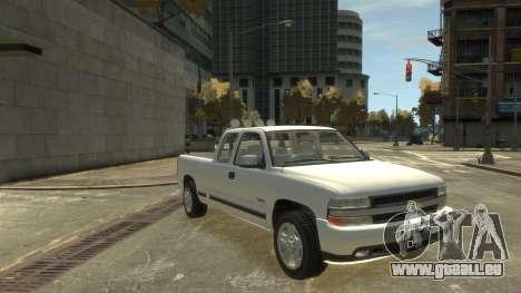 Chevrolet Silverado 1500 für GTA 4 hinten links Ansicht