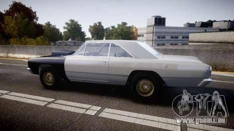 Dodge Dart HEMI Super Stock 1968 rims1 für GTA 4 linke Ansicht