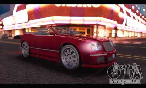 Enus Cognoscenti Cabrio (GTA V) pour GTA San Andreas laissé vue