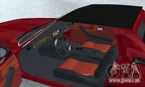 Fiat Bertone X1 9 für GTA San Andreas