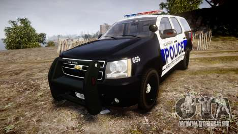Chevrolet Tahoe 2010 Police Algonquin [ELS] pour GTA 4