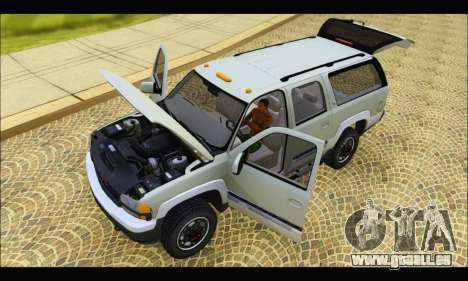 GMC Yukon XL 2003 v.2 für GTA San Andreas Rückansicht