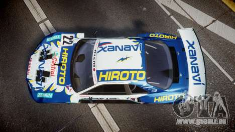 Nissan Skyline R34 2003 JGTC Xanavi Hiroto für GTA 4 rechte Ansicht