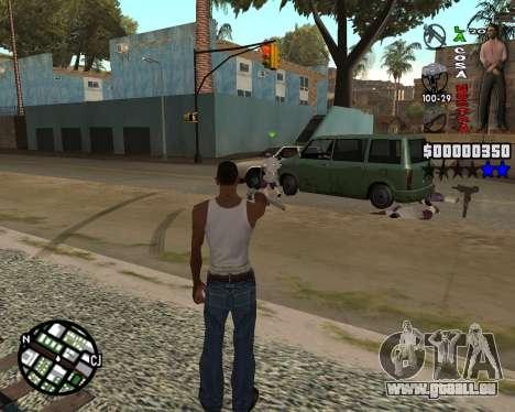 C-HUD La Cosa Nostra pour GTA San Andreas deuxième écran