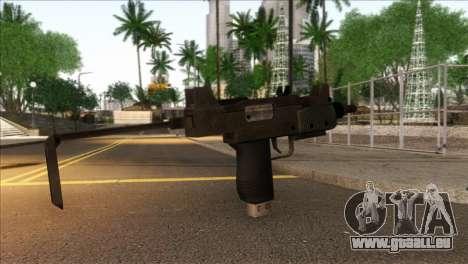 Micro SMG from GTA 5 für GTA San Andreas zweiten Screenshot