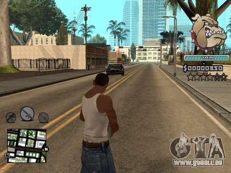 C-HUD Universal pour GTA San Andreas cinquième écran