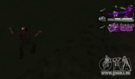 C-HUD Ballas für GTA San Andreas dritten Screenshot