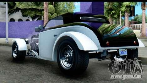 GTA 5 Hotknife pour GTA San Andreas laissé vue