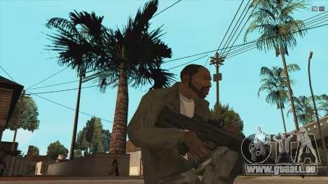 M7A3 pour GTA San Andreas deuxième écran