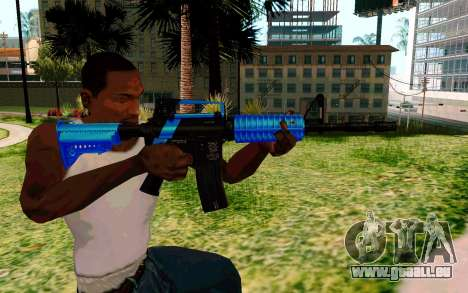 M4 Blue für GTA San Andreas