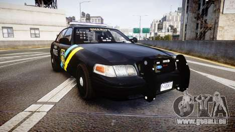Ford Crown Victoria Sheriff Bohan [ELS] pour GTA 4