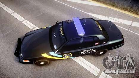 Ford Crown Victoria Sheriff Bohan [ELS] für GTA 4 rechte Ansicht