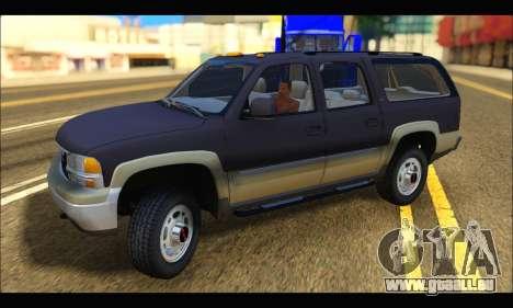 GMC Yukon XL 2003 für GTA San Andreas linke Ansicht