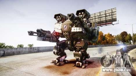 Enhanced Power Armor pour GTA 4 troisième écran