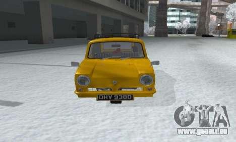 Reliant Supervan Only Fools and Horses für GTA San Andreas