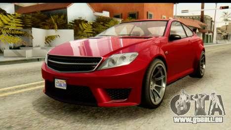 GTA 5 Benefactor Schwartzer pour GTA San Andreas