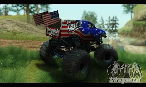 Monster The Liberator (GTA V) pour GTA San Andreas vue de droite