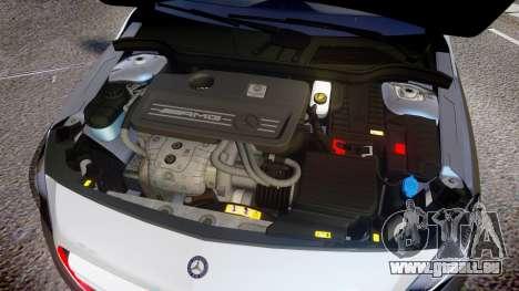 Mersedes-Benz A45 AMG PJs2 für GTA 4 Innenansicht