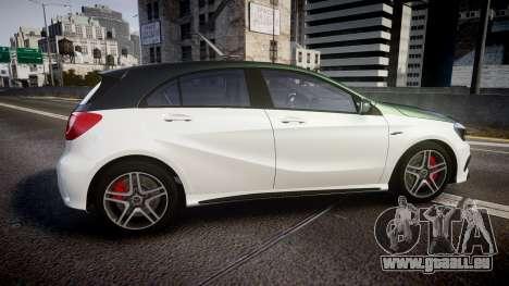 Mersedes-Benz A45 AMG PJs3 pour GTA 4 est une gauche