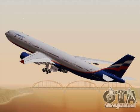 Airbus A330-300 Aeroflot - Russian Airlines für GTA San Andreas obere Ansicht