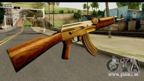 New AK47 pour GTA San Andreas deuxième écran