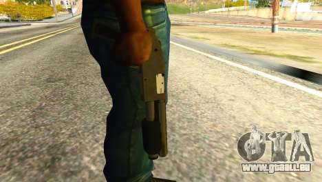 Sawnoff Shotgun from GTA 5 pour GTA San Andreas troisième écran